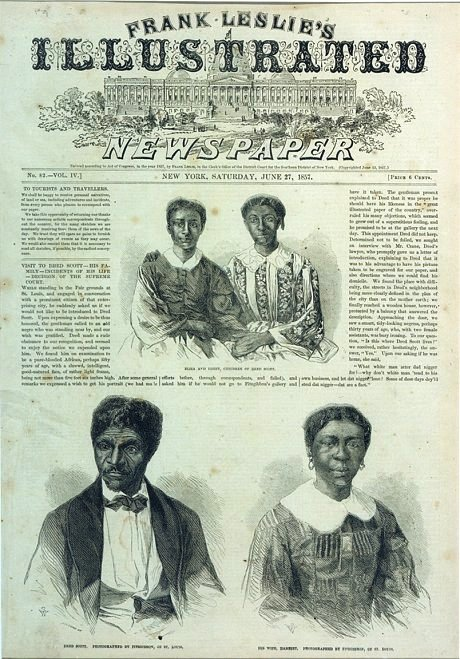 Dred Scott Decision – Slaves and Descendants Have No Rights