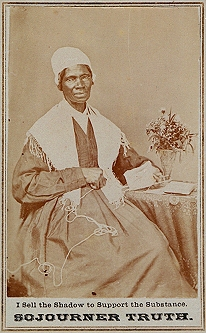 Sojourner Truth – CDV and Her Rare Signature