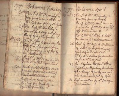 virginia tobacco plantation ledger urbanna slavery wormeley wormly bacon's rebellion